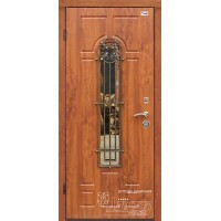 ABWEHR Metāla durvis ar MDF apdari ARTEMIDA-S (AP1) 860/960x2050 (Zeltainais Ozols)