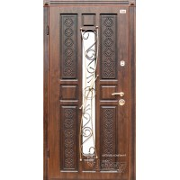 ABWEHR Metāla durvis ar MDF apdari EMILIA (AP1) 860/960x2050 (Ozols patina)