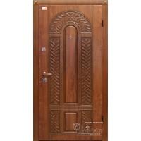 ABWEHR Metāla durvis ar MDF apdari Florina (AP2) 860/960x2050 (Zeltainais Ozols patina)