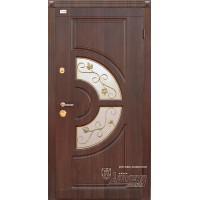 ABWEHR Metāla durvis ar MDF apdari GLORIA (AP1) 860/960x2050 (Tumšais Ozols)