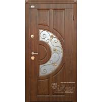 ABWEHR Metāla durvis ar MDF apdari KAMELIA (AP1) 860/960x2050 (Tumšais Ozols)