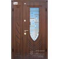 ABWEHR Metāla durvis ar MDF apdari LETIZIA (AP1) 1200x2050 (Tumšais ozols)